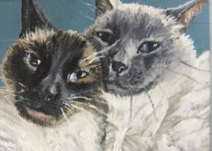 Frank and Henry - Feathers and Fur Portraits (Bryan Man)
